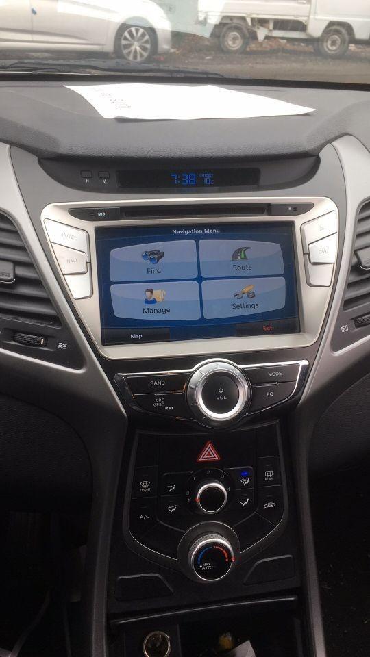 Elantra, Nevigation, upgrade Audio system