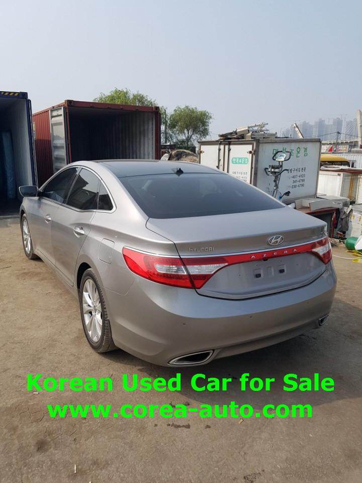 Korean Used car, exporter, azera,