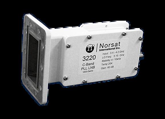 LNB Norsat 3220F - C band PLL (3.4 - 4.2 GHz)