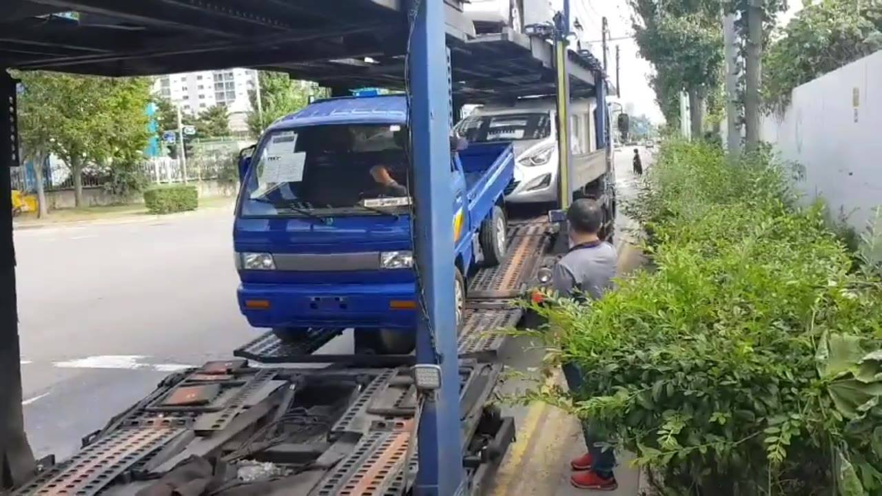 Shipping to Peru. Mir motors, David Joo, Our member of Corea-auto.com, successfully completed the order. Today it is a day to send cars to Port. If you like to know more information, please visit and join the website. www.corea-auto.com