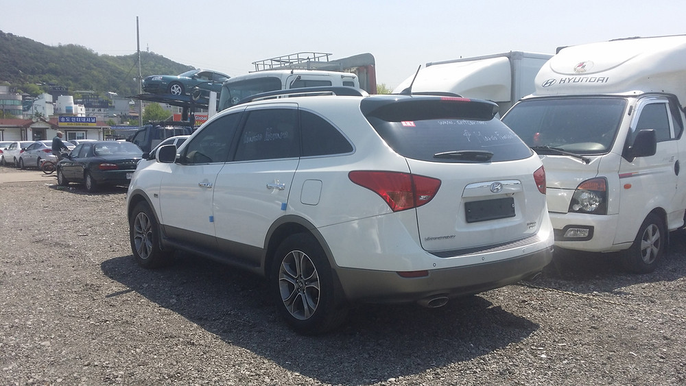 Hyundai Used Car, Veracruz, 4WD, Korean used car for sale