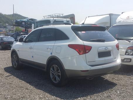 Korean used car, In Paraguay. Hyundai Veracruz export history @corea-auto.com