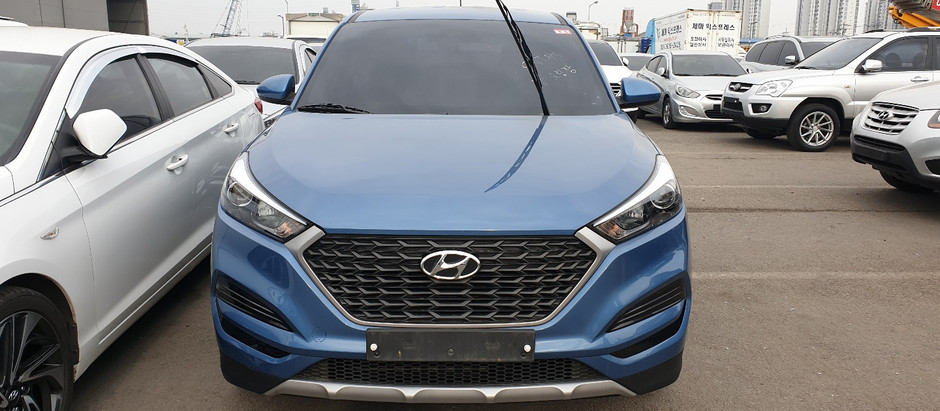 Gabon, Libreville, Korean used car_Hyundai Tucson IX. export