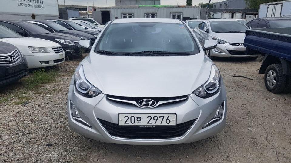 Hyundai Avante (Elantra) -LPG-LUXERY