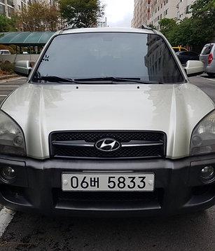 Hyundai TUCSON 2wd MLX-diesel-2006year