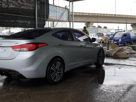 Korean Used Car to Ethiopia _ SNT trading company. Hyundai Avante, H1, Kia Morning for sale