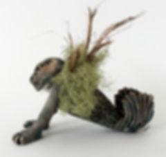 Sedna Doing Yoga - artwork by Judith Ann Cooper