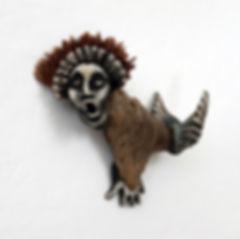 Sedna with Headdress - artwork by Judith Ann Cooper