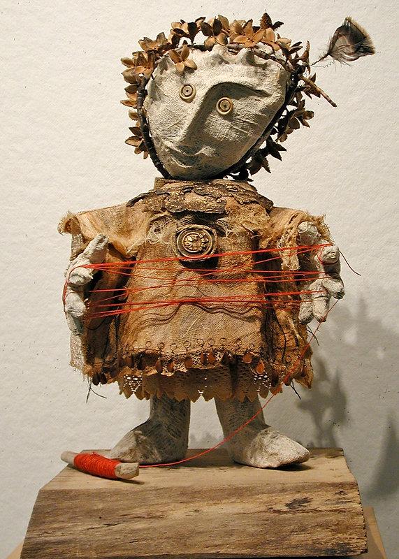 Cat's Cradle - artwork by Judith Ann Cooper