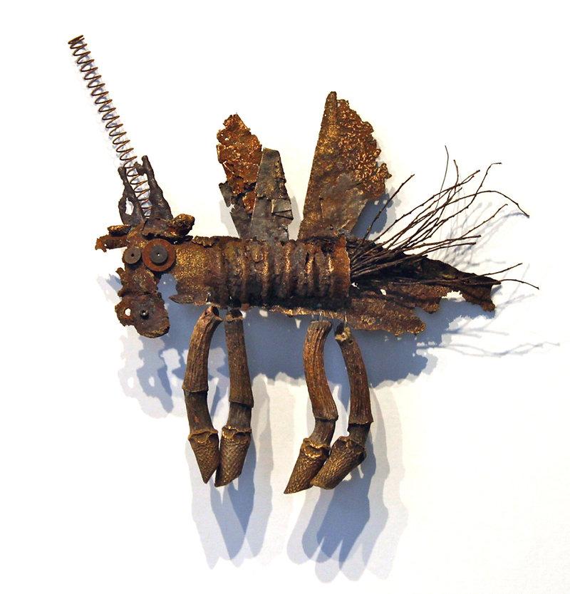 Flying Unicorn - artwork by Judith Ann Cooper