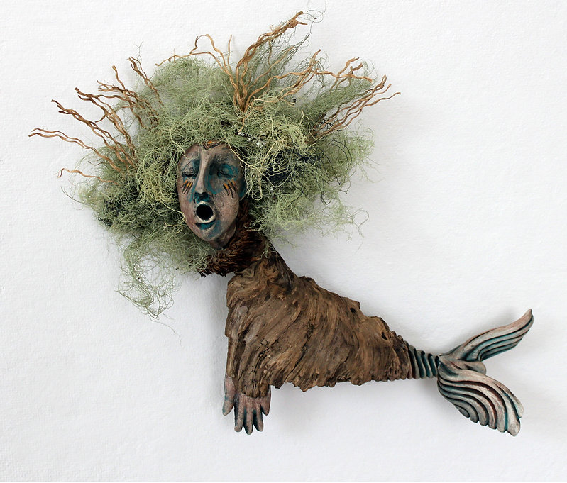 Sedna with Hair - artwork by Judith Ann Cooper