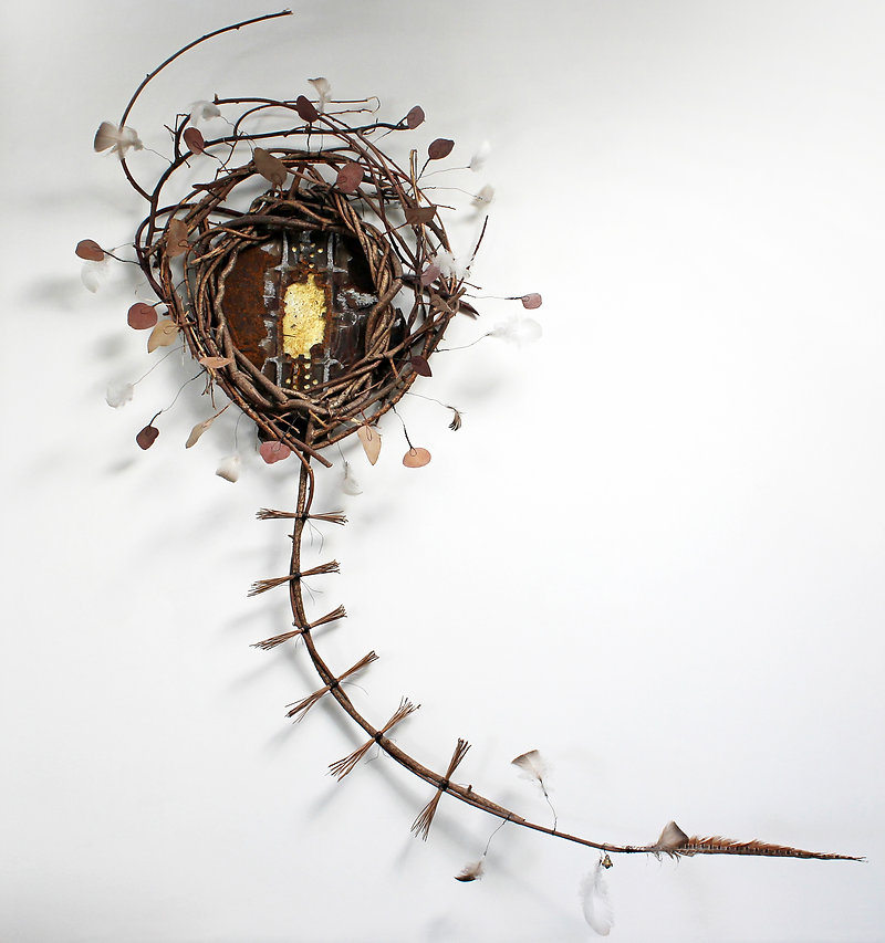 Memorial Piece: Honoring the Selves We Left Behind - artwork by Judith Ann Cooper