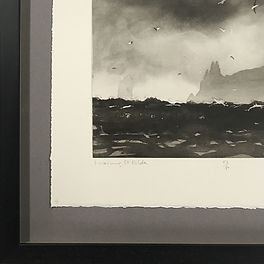 Norman Ackroyd framed by English Framing