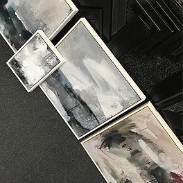 Haley Childs art 2 framed by English Fra