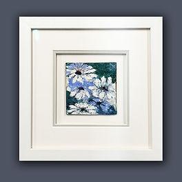 Malcolm Jones art 3 framed by English Fr