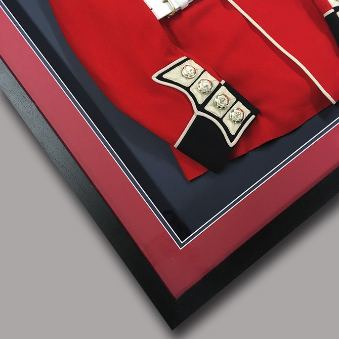 Coldstream Guard tunic framing