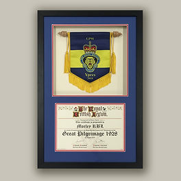 Royal British Legion Framed by English F