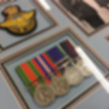 War medals Framing by English Fraimg Co