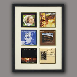 Van Morrison 1 framed by English Framing