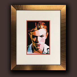 David Bowie picture Framed by English Fr