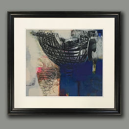 Tom Wood Art framed by English Framing C