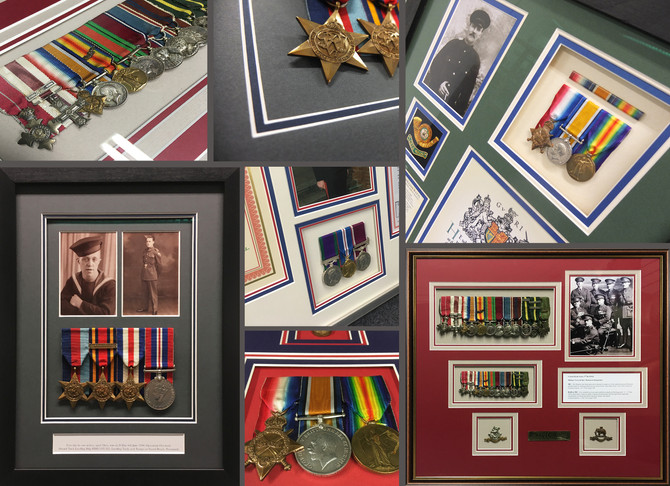 THE HISTORY BEHIND YOUR FAMILY'S BRITISH FORCES MEDALS.