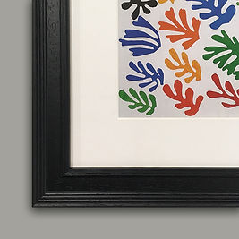The Sheaf by Henri Matisse detail framed
