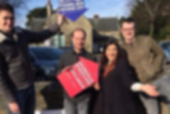Campaigning with our local CLP in St Andrews