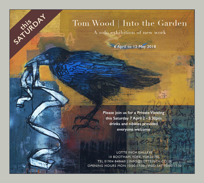 Tom Wood exhibition opens today.