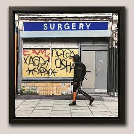 Elizabeth Nast Artist 2 framed by Englis