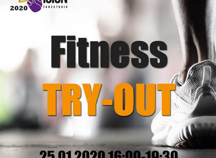 FITNESS TRY OUT