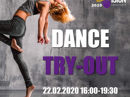 DANCE TRY OUT