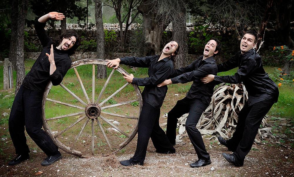 Arte en rueda improvisación teatral, impro, teatro