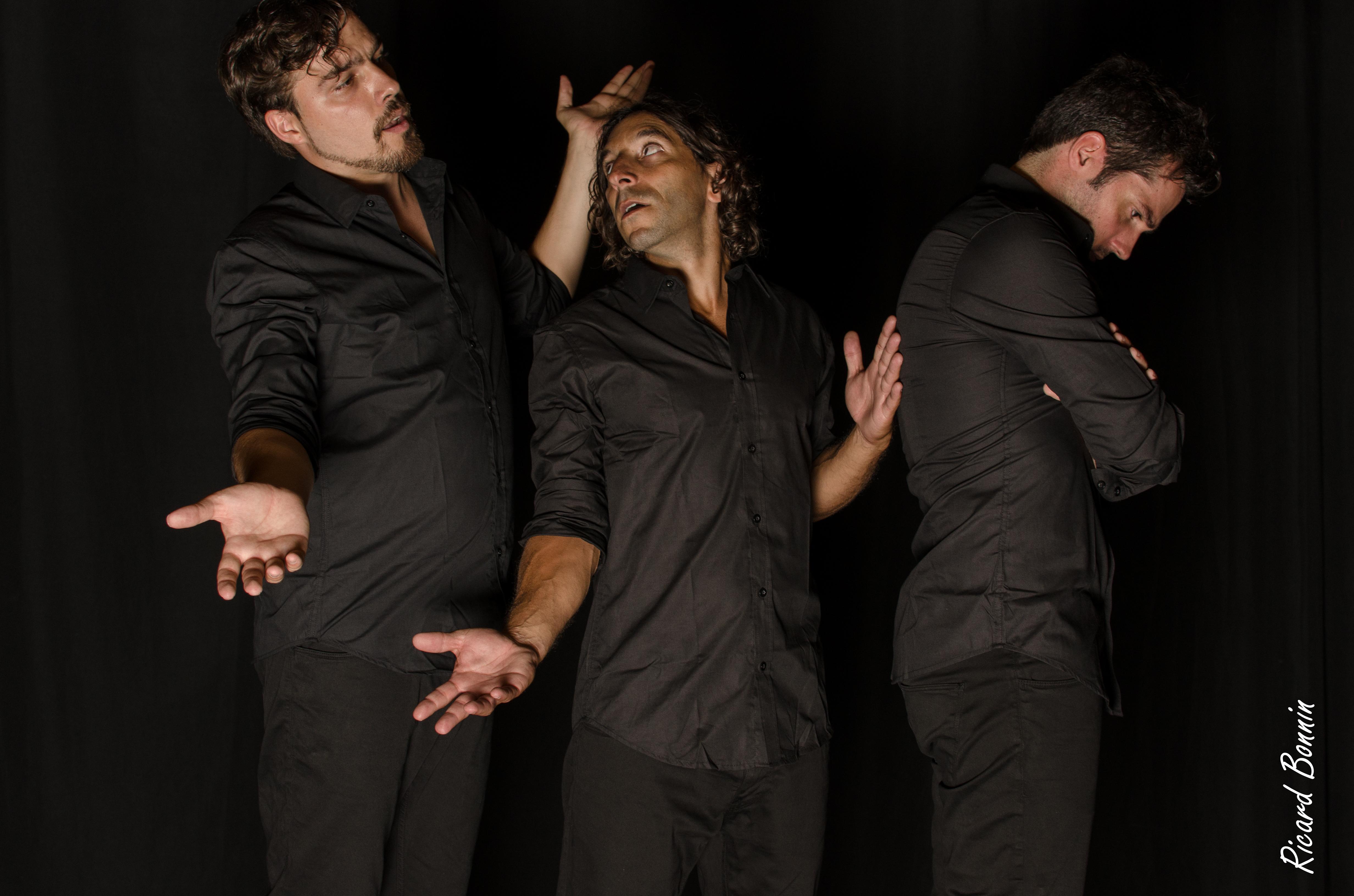 Kike Oliver, José García y Gabriel