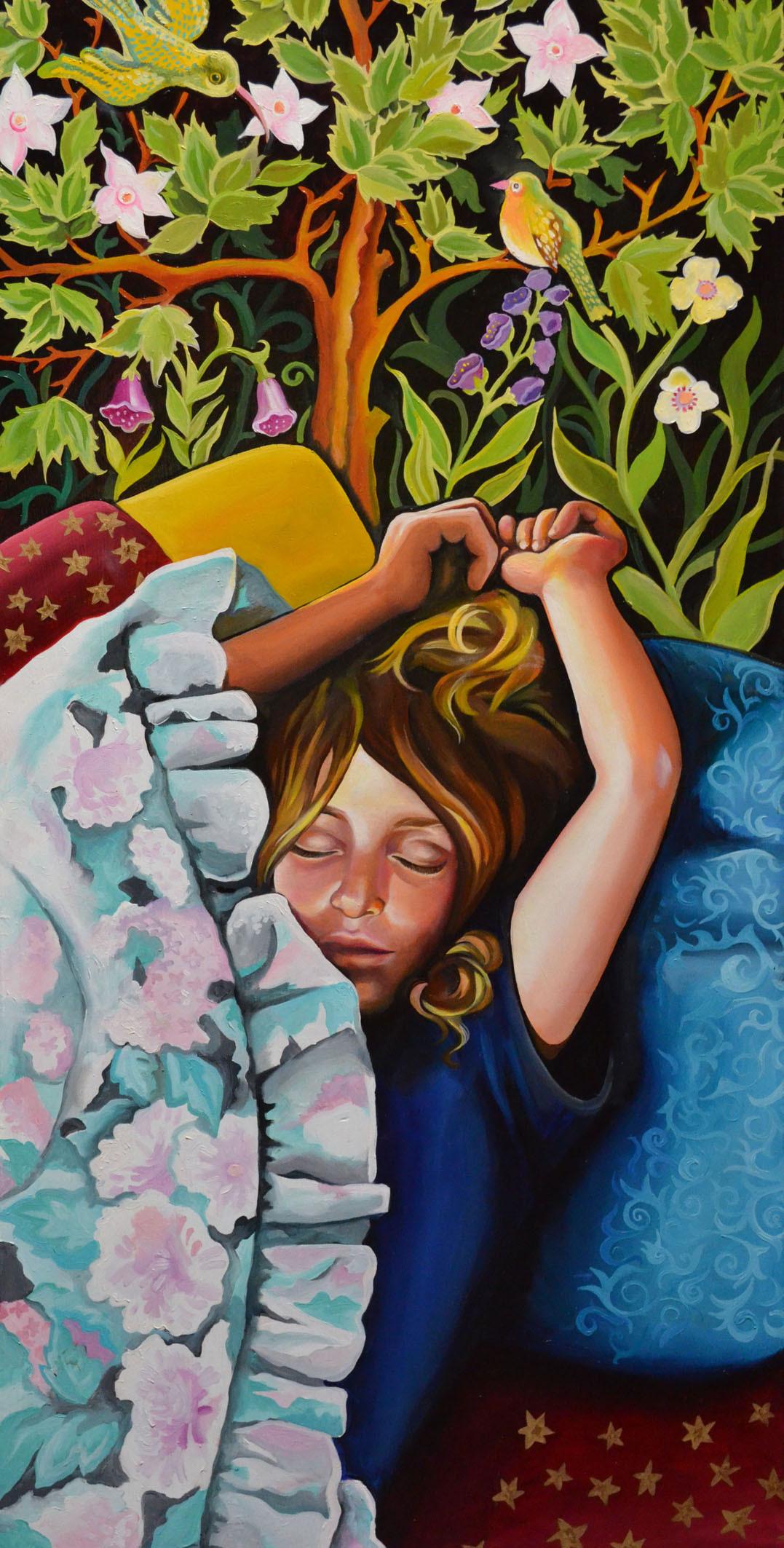 Aviv sleeping
