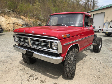1972 FORD F-250