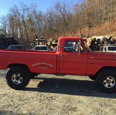 1972 FORD F-250 (BEFORE)