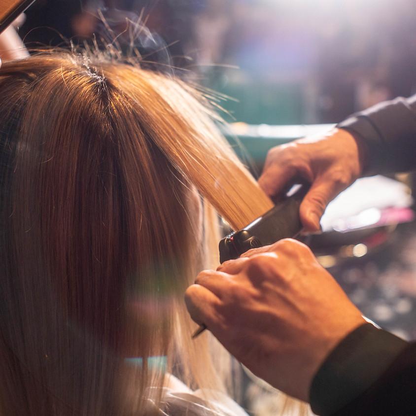 Перманентне  вирівнювання волосся Hahonico