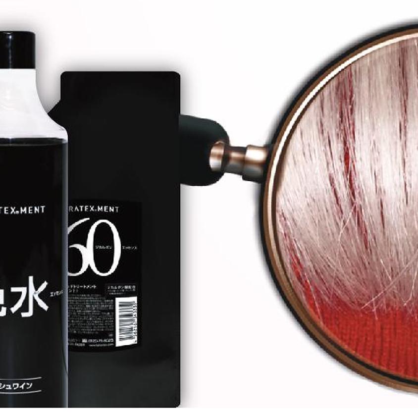 Keratexment - Процедура філерної кератиново-меланінової пластики волосся