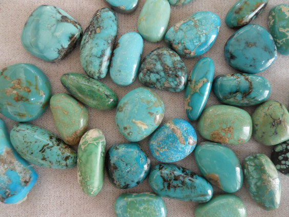 Stash of American mined Turquoise
