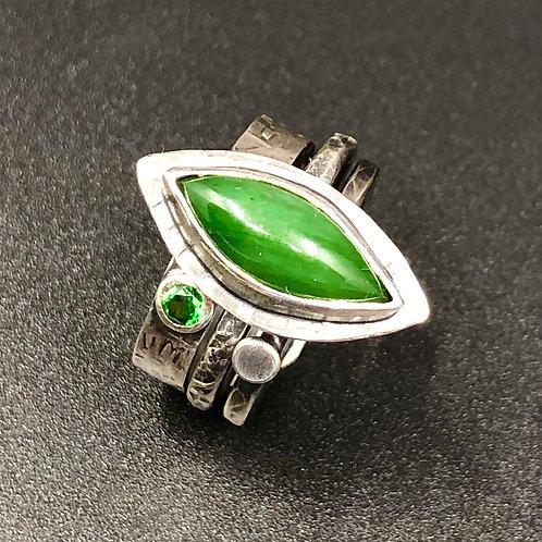 Jade Stack Ring