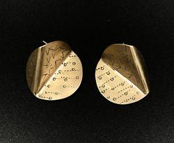 Brass Disc ears