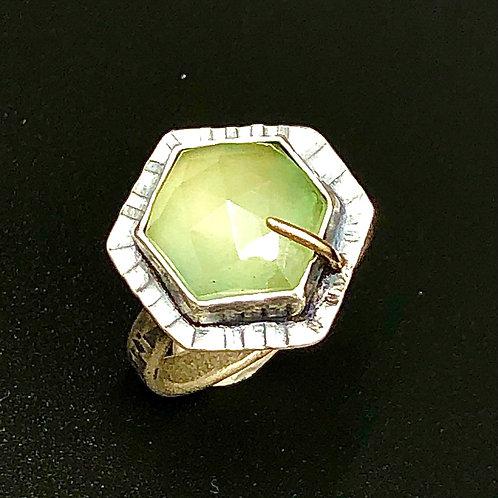 Prehnite Hex Ring