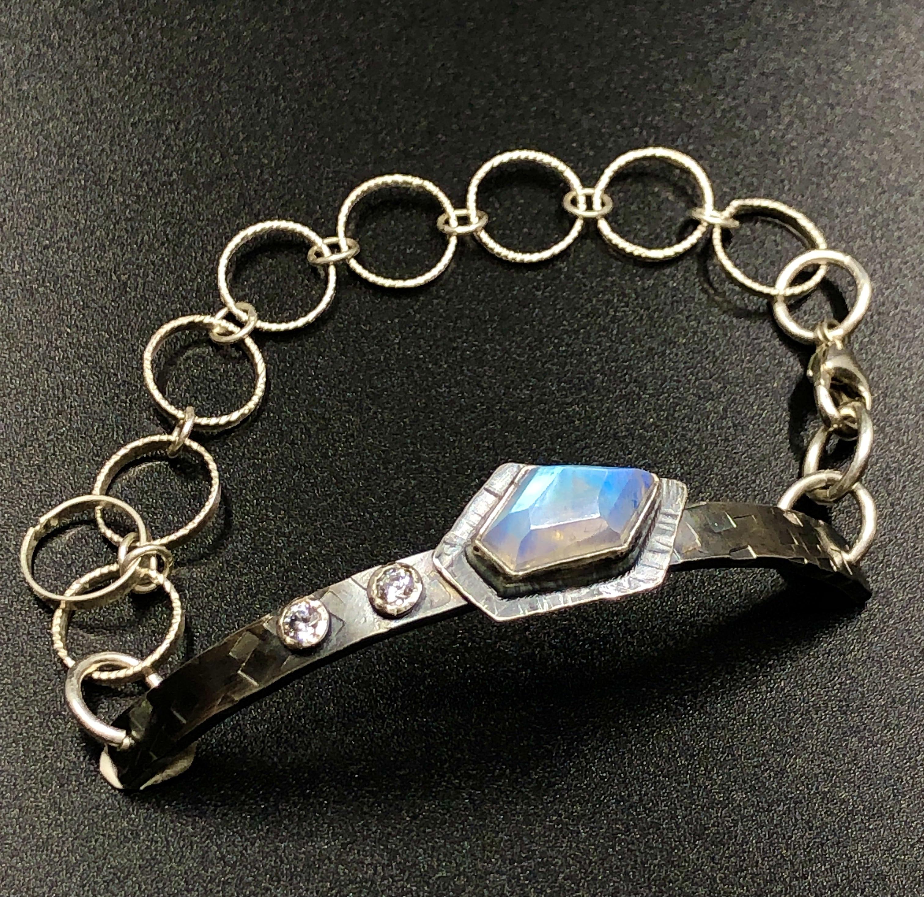 Moonstone ID Bracelet