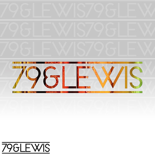 "79&Lewis Sticker 6"" Hologram"