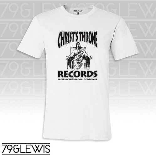 Christ Throne Records Tee