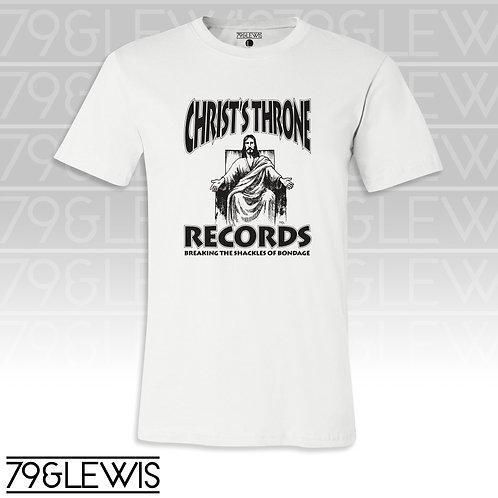 Christ Throne Records Tee