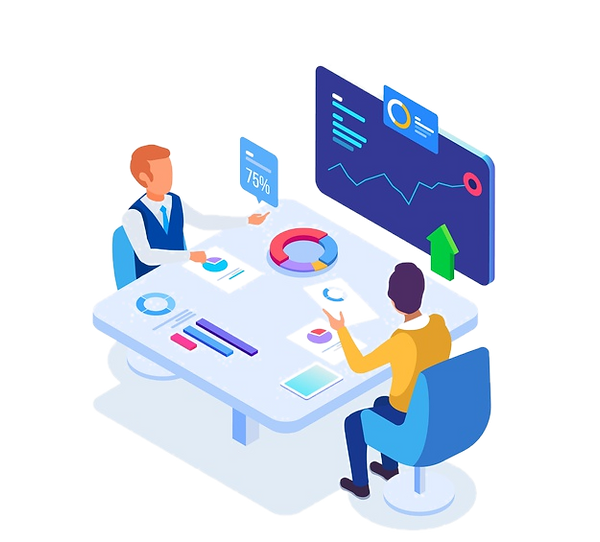 isometric-business-people-meeting-illust