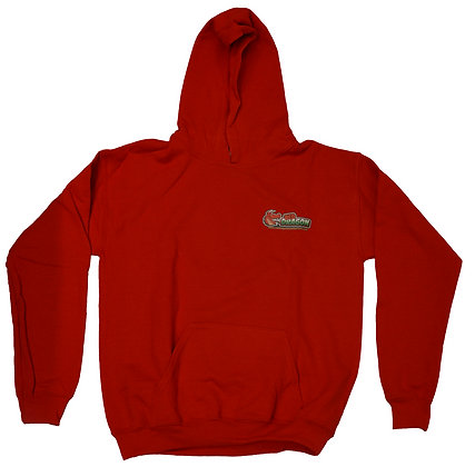 Red Dragon Red Childrens Hoodie