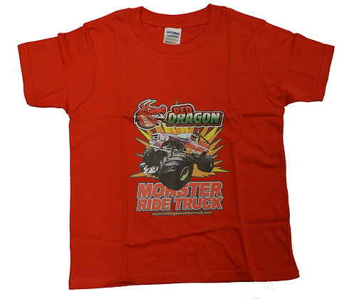 Red Dragon Red Childrens T-Shirt